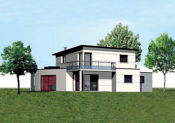 Découvrez Les Plans De Cette Maison à énergie Positive Sur Www. Construiresamaison.com U003e