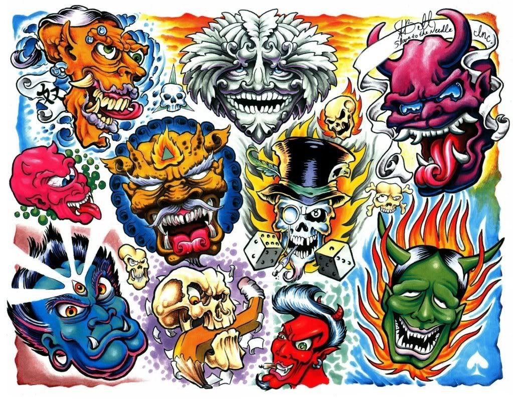 New school tattoo design - The Best Old School Tattoos Google Zoeken New School Tattoosoriental Tattooflash