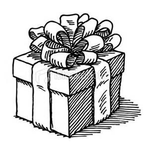 Gift Boxes Drawing Bing Images Christmas Drawings Vector Art