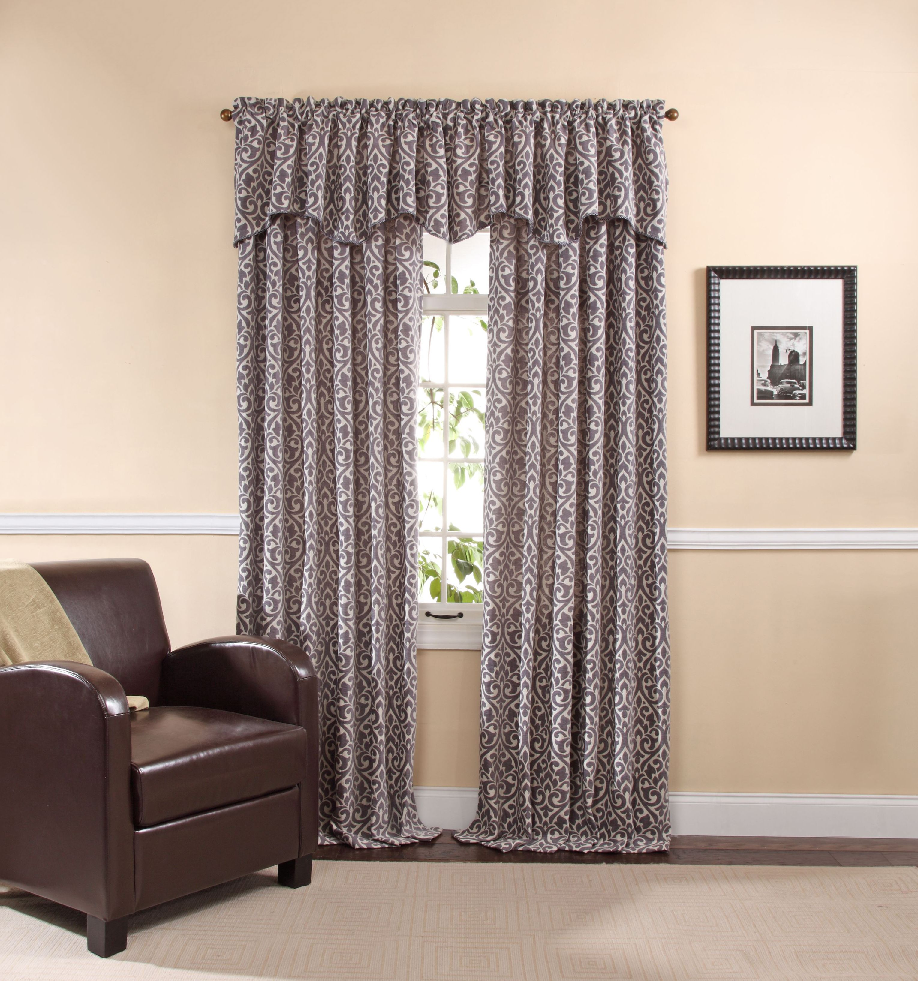Bryce Valance And Panels In Pewter By Twill Birch Panel Curtains Curtains Cool Curtains