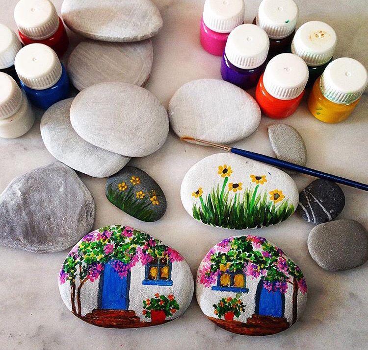 pingl par eyl l bulut sur minno ta lar pinterest peinture galets peints et cailloux. Black Bedroom Furniture Sets. Home Design Ideas