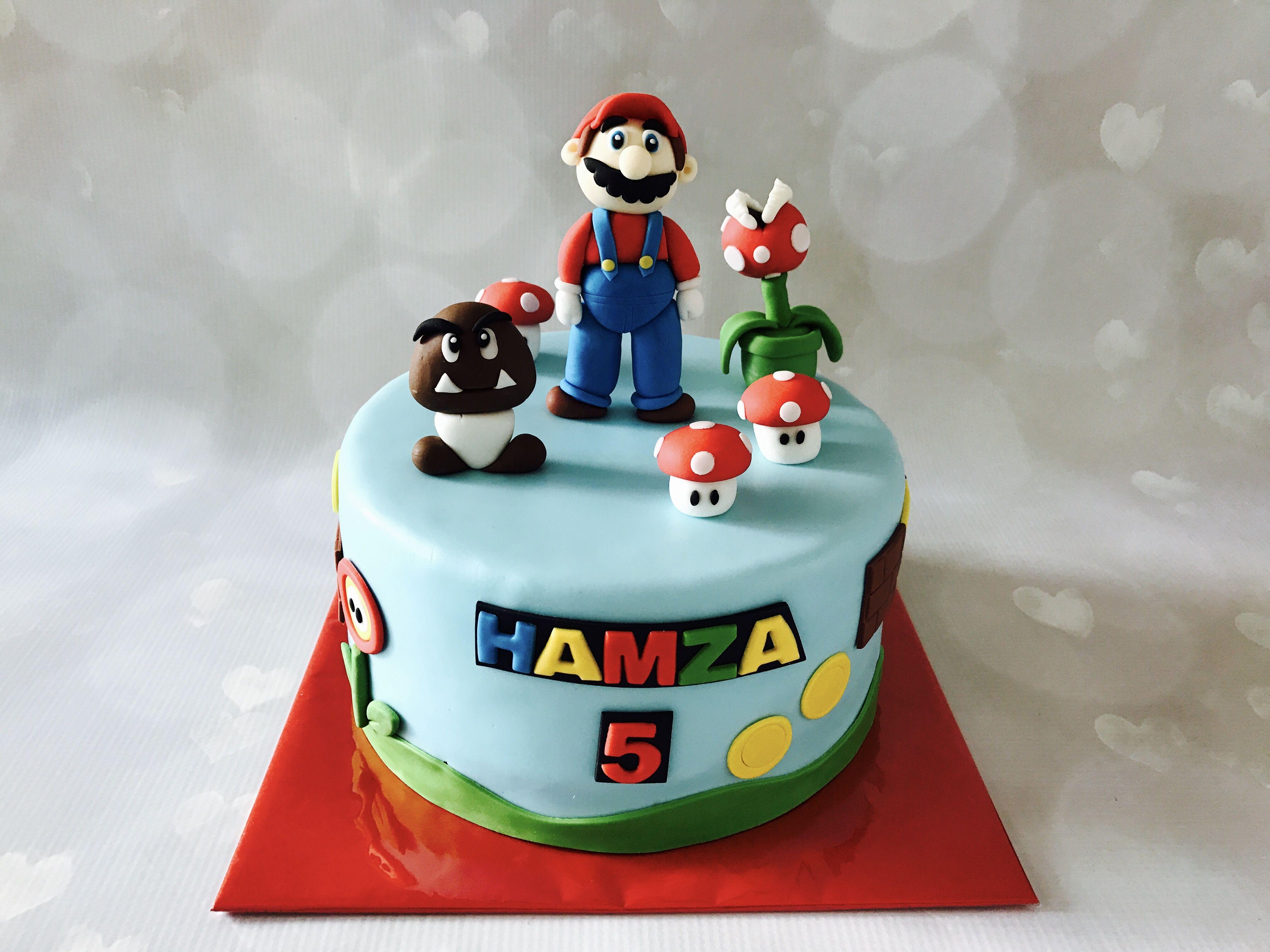 Mario loved making this cake wwwkoningkikkernl