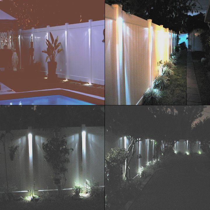 Solar Lights For Pvc Fence Wm Homes