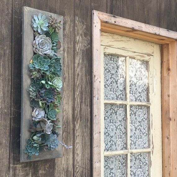 Vertical Garden 10x30 Living Wall Planter Vertical Etsy Framed Plants Living Wall Planter Vertical Garden