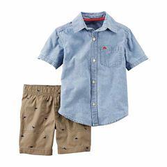 e8405a95f2fa Carter's 2-pc. Short Set Toddler Boys | B a b i e s❤ | Carters ...