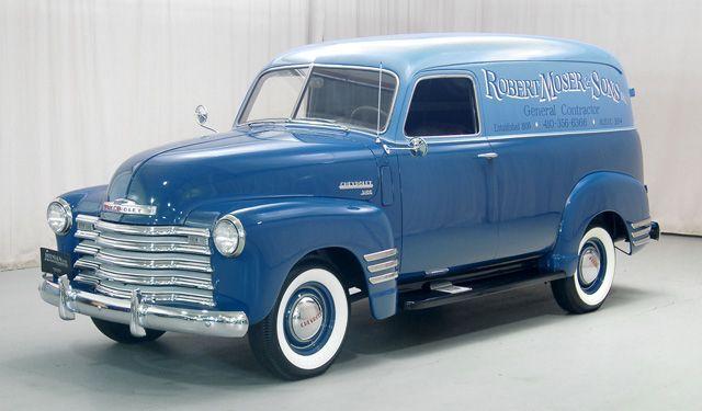 1949 Chevrolet 3100 Panel Van Panel Truck Chevrolet 3100