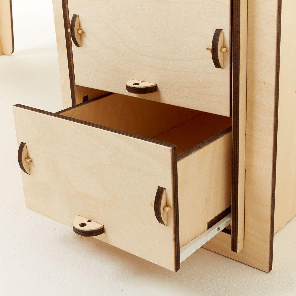 Studio desk muebles frescos taller de carpinter a y laser for Studio design muebles