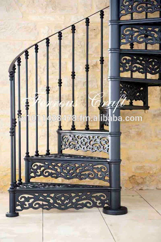 Cast Iron Spiral Staircase - Buy Outdoor Spiral StaircaseWrought