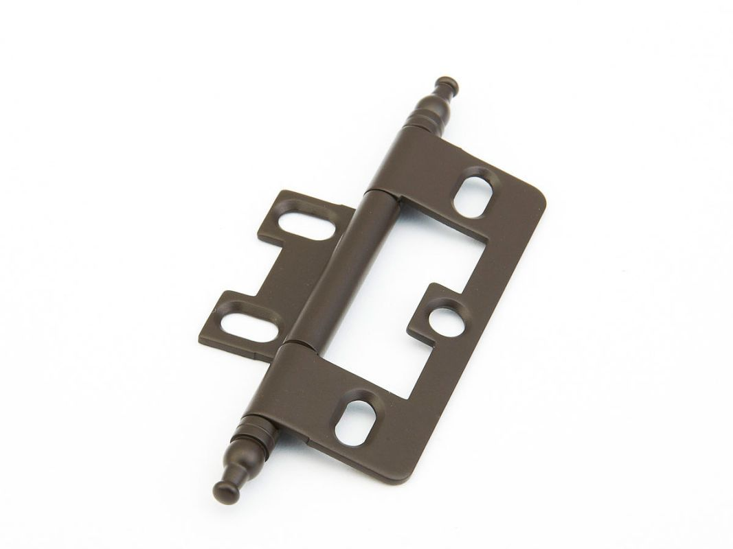 Schaub And Company 1100m Non Mortise Solid Br Cabinet Hinge With Minaret Oil Rubbed Bronze Hinges Inset