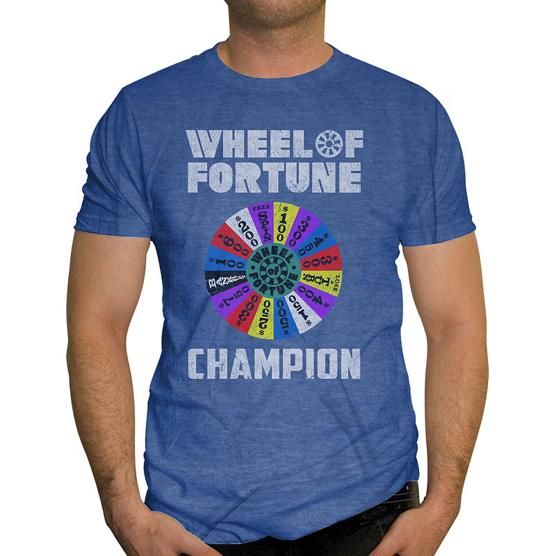 Wheel Of Fortune Graphic TShirt Shirts, T shirt
