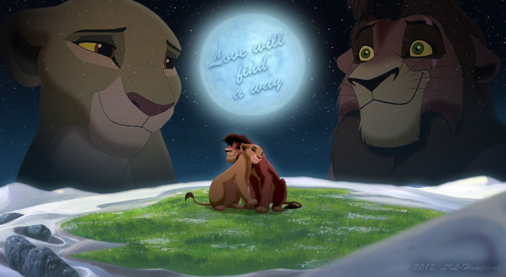 fan art of love will find a way for fans of the lion king