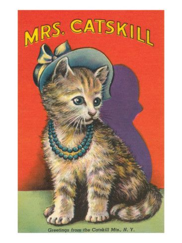 Mrs. Catskill, Greetings from Catskill Mts., NY Premium Poster