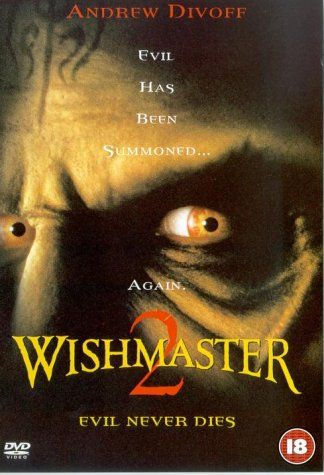 Wishmaster 2 Evil Never Dies Dvd Not A Bad Sequel Just A