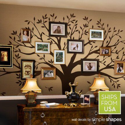 Tree Wall Murals tree wall templates | tree wall decals and wall murals | crafts