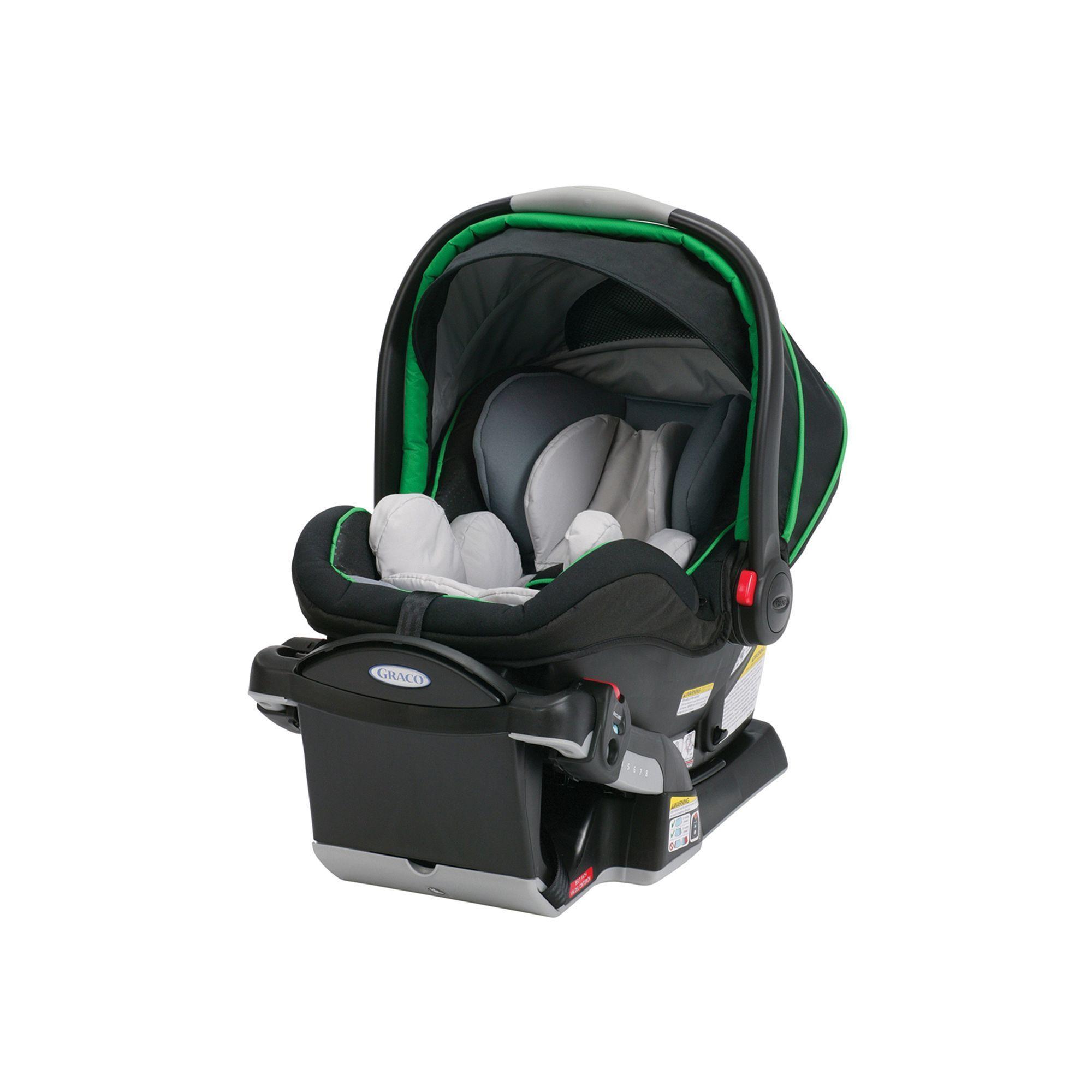 Graco SnugRide Click Connect 40 Infant Car Seat, Green | Car seats ...
