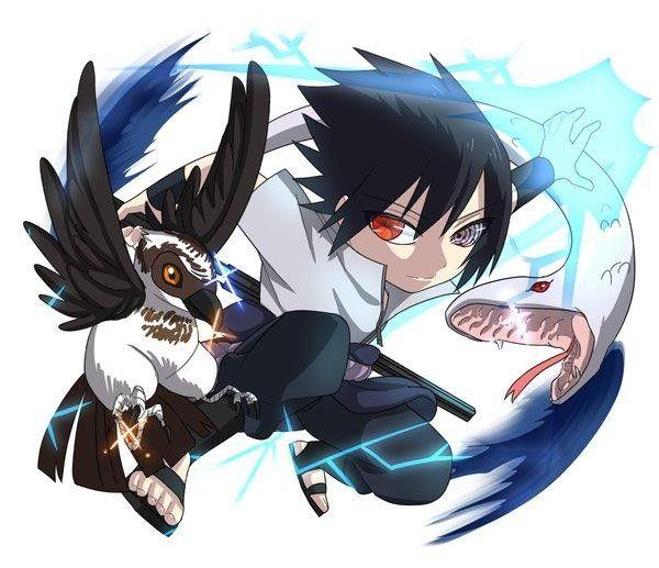 Dessin fanart sasuke uchiwa naruto par kaduooooo - Dessin naruto et sasuke ...