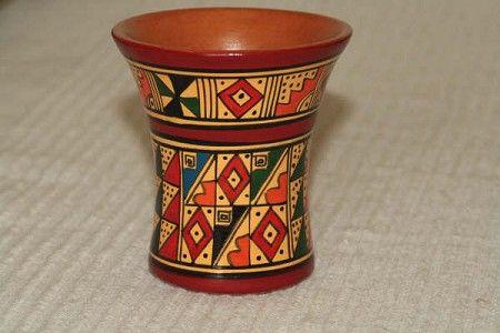 El Kero Ceramica Inca Vaso De Madera Fue Tambien Otra Forma
