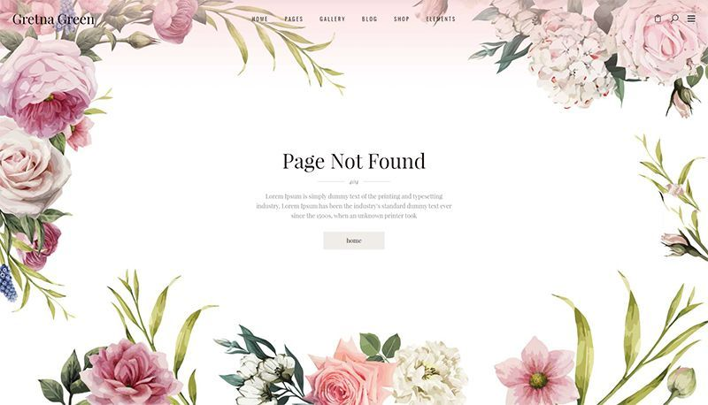 Say I Do To Website Perfection With Gretna Green A Theme For Wedding Planners And Celebrations Wordpress Green Themed Wedding Gretna Green Wedding Gretna