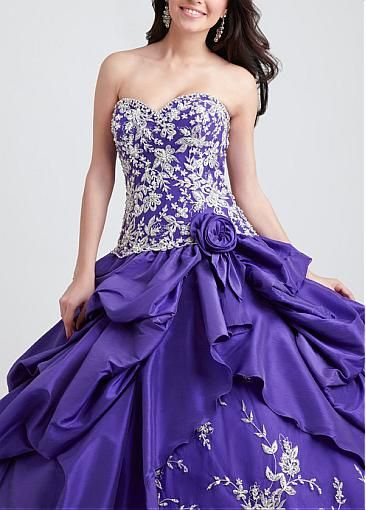 Attractive Sweetheart Ball Gown... not in this particular color though...