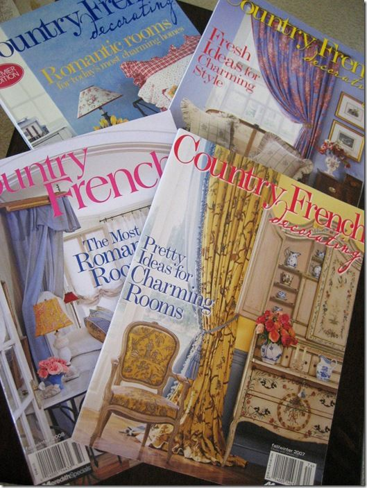 Country French Decorating Magazine | Do It Like The French ...