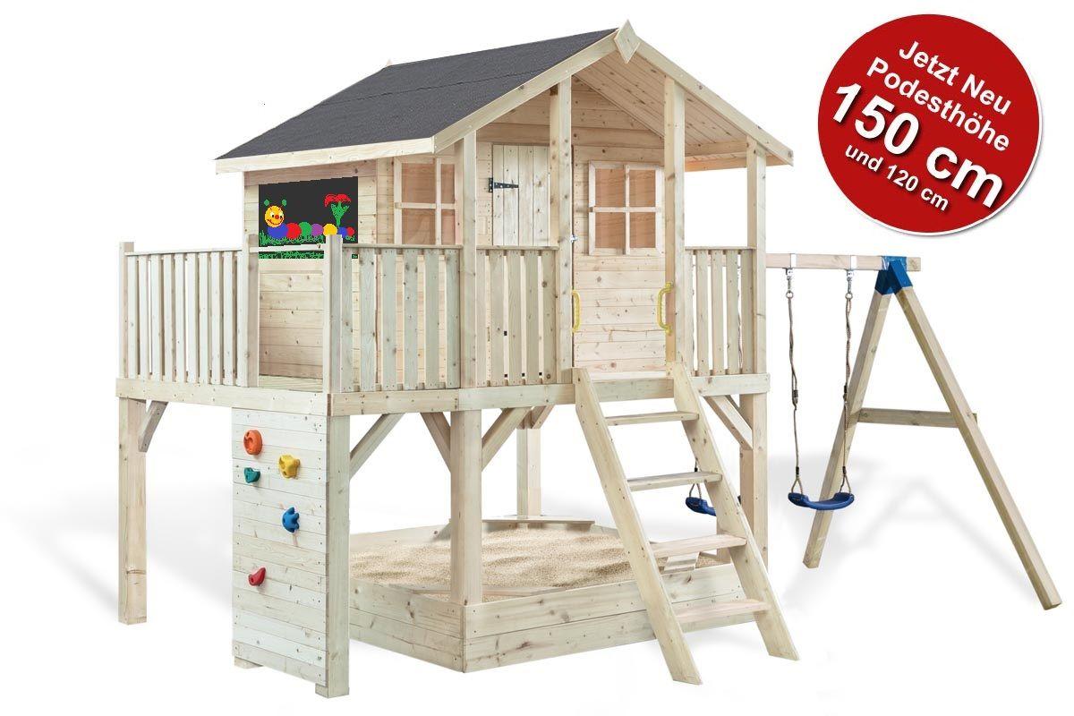 Stelzenhaus Tobi Spielwelt 810 Podesthohe 120 150 Cm 604810 Stelzenhaus Haus Kinder Spielhaus Garten