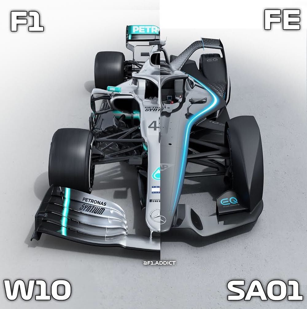 F1 Fe Both Mercedes Cars Which One Do You Prefer