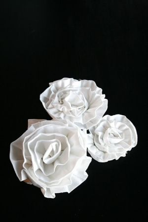 ruffle flower by Nana Kate