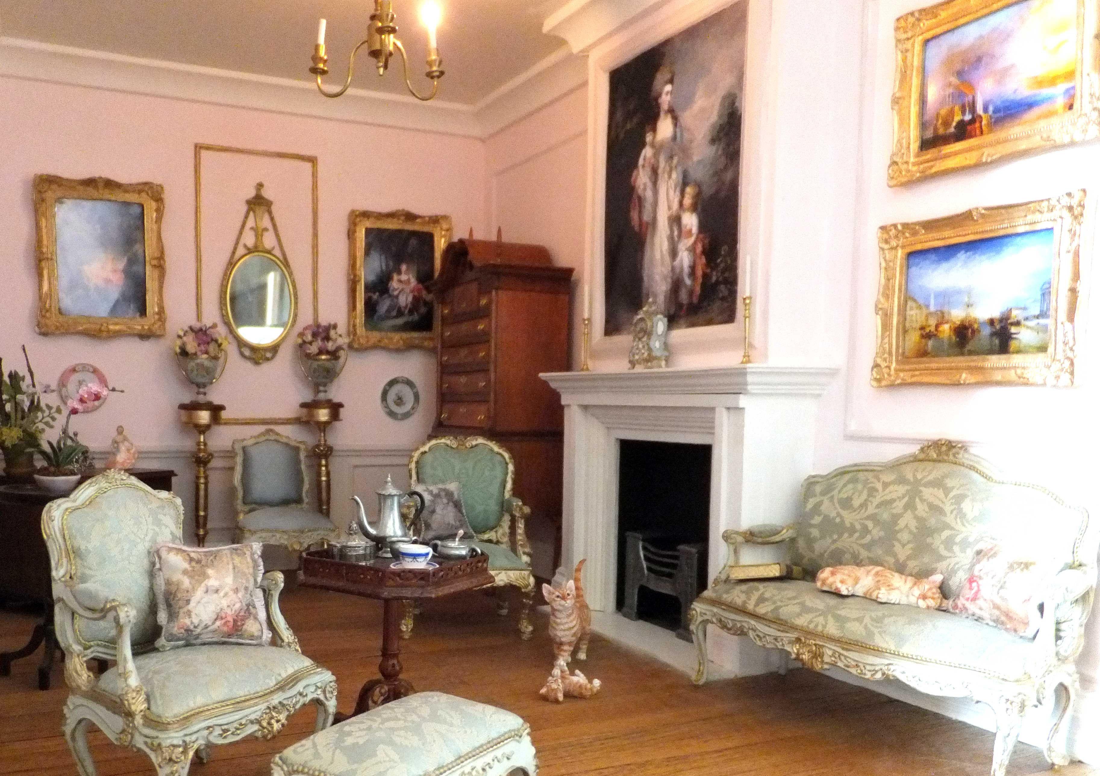 My Georgian Dolls House Dolls House Interiors Dollhouse Living Room Doll House