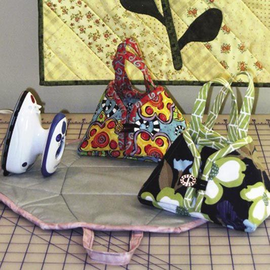 ❤️❤️❤️ travel iron tote/caddy pad pattern
