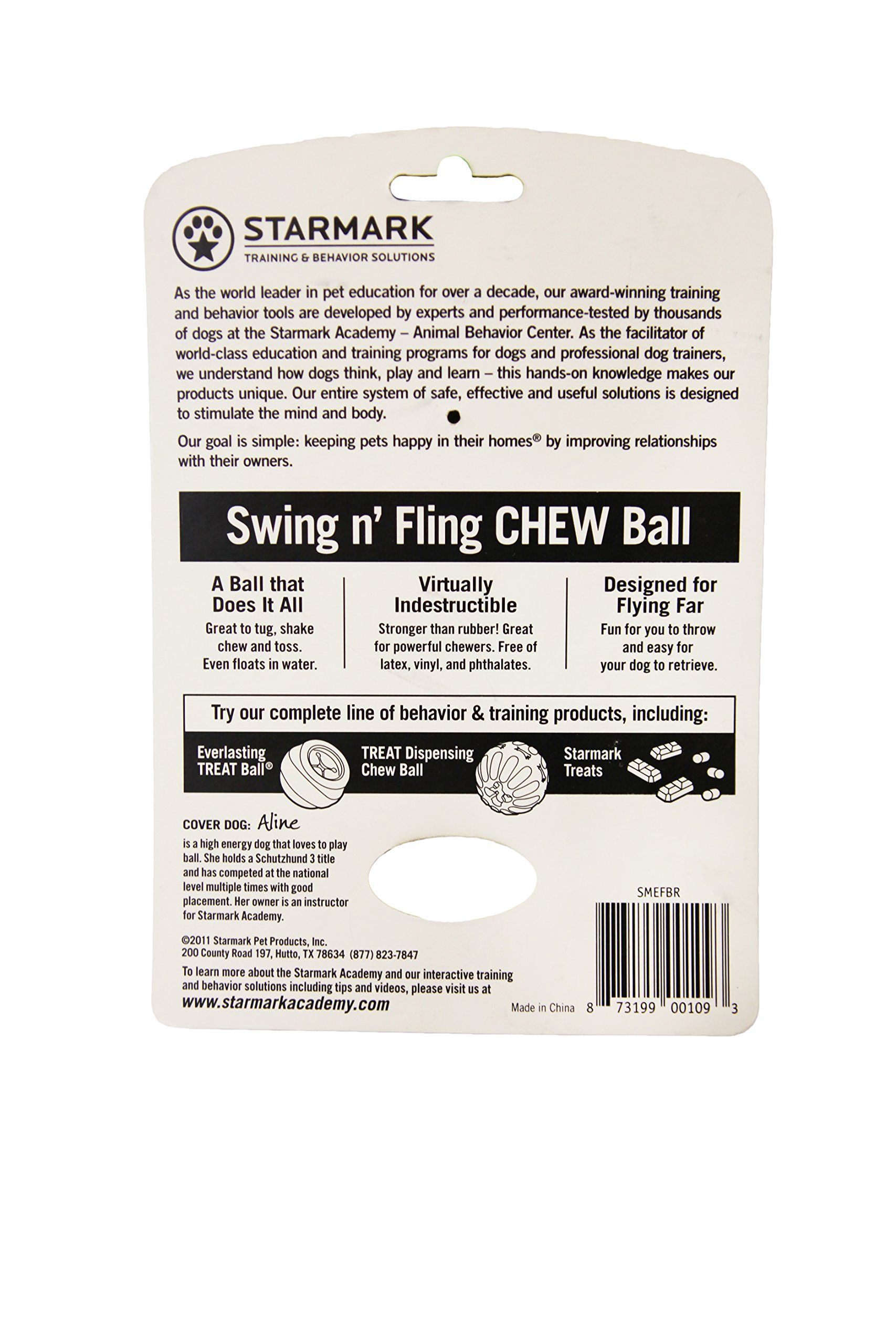 Starmark Everlasting Fun Ball On A Rope Dog Toy Details Can Be