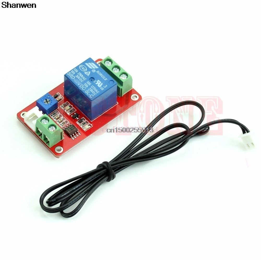 Dc 5v Control Switch 1 Channel Thermistor Relay Sensor Temperature Detection Affiliate Dc 5v Relay Sensor