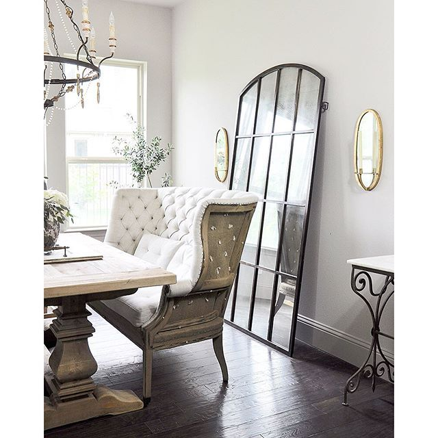 How To Decorate With Mirrors Decor Gold Designs French Country Dining Room Restoration Hardware Dining Room French Country Dining Room Decor