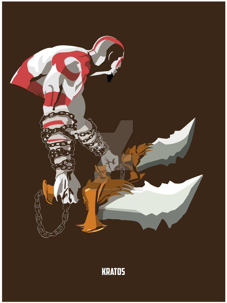 God Of War - Kratos by EvanDeCiren