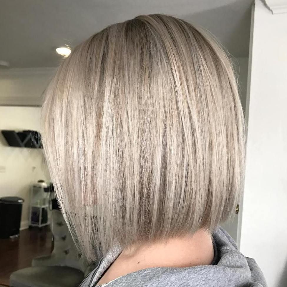 70 Winning Looks with Bob Haircuts for Fine Hair | Platinum bob ...