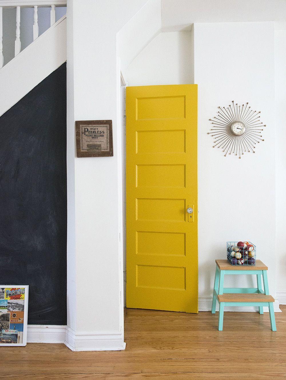 Innenfarben für haus bildergebnis für zimmertür gelb  haus  pinterest  zuhause haus