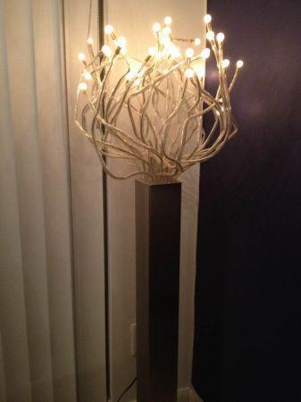 IKEA Stranne FLOOR Lamp, Steel LED Light