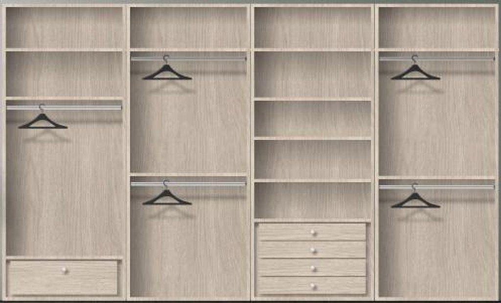 resultado de imagen de organizacion de armarios empotrados roperos empotrados interiores de armarios decoraciones - Roperos Empotrados