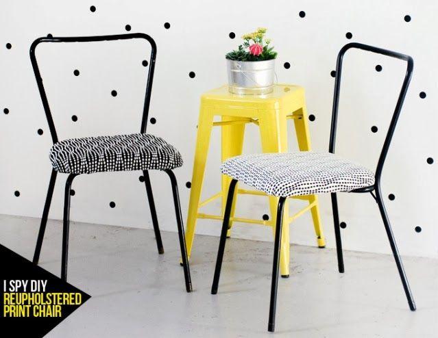 restaurar reciclar sillas viejas : via MIBLOG