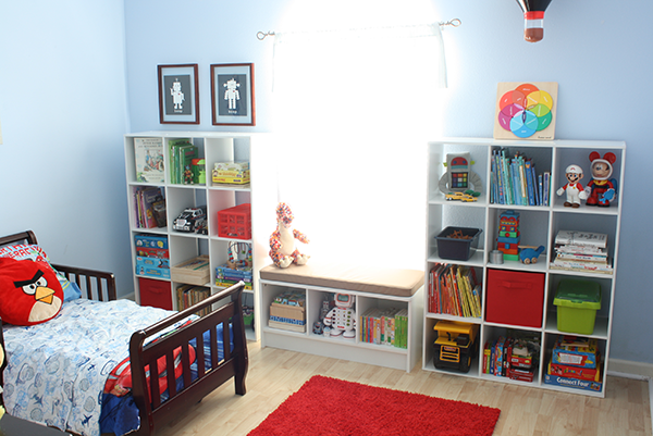 the new toddler room | toys, window and toddler room organization
