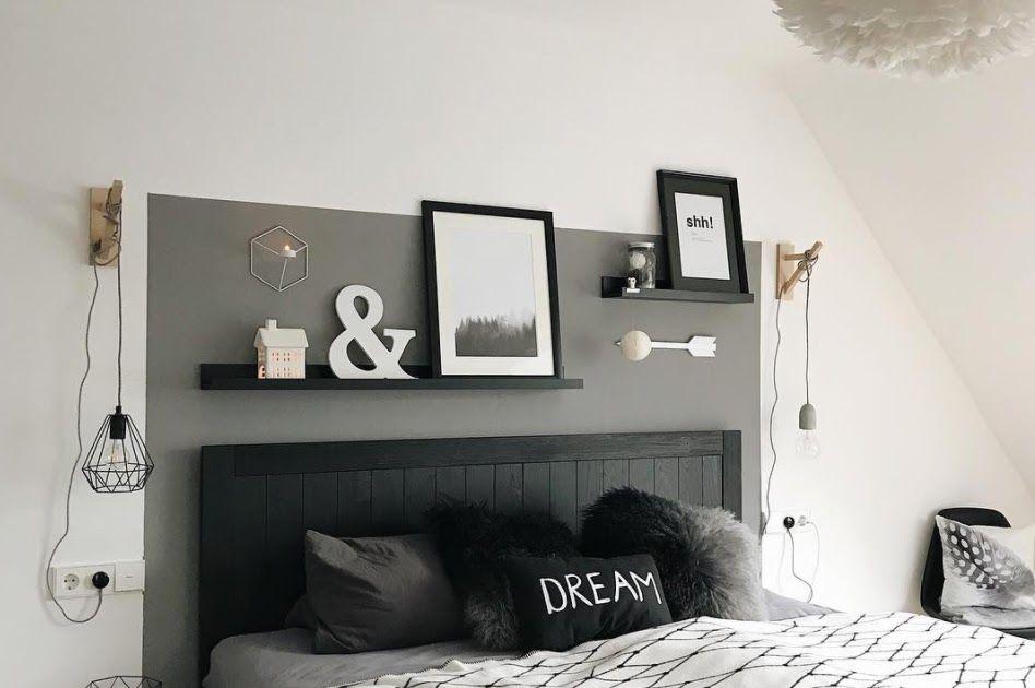 Schlafzimmer Ideen Schwarzes Bett In 2020 House Interior