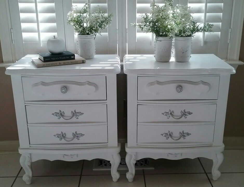 These French Provincial Nightstands Were Redone Using