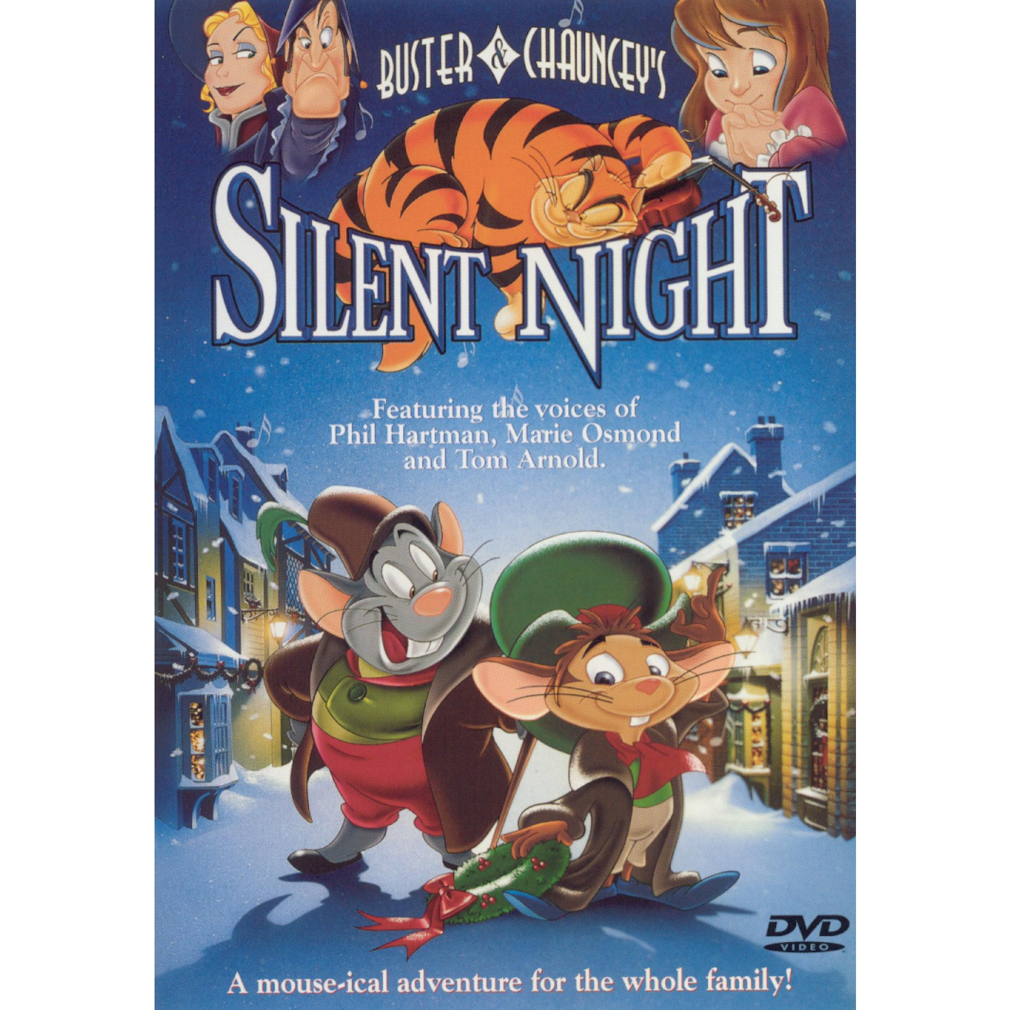 Buster And Chauncey S Silent Ht Dvd 2000 In 2021 Silent Night Movie Kids Christmas Movies Busters