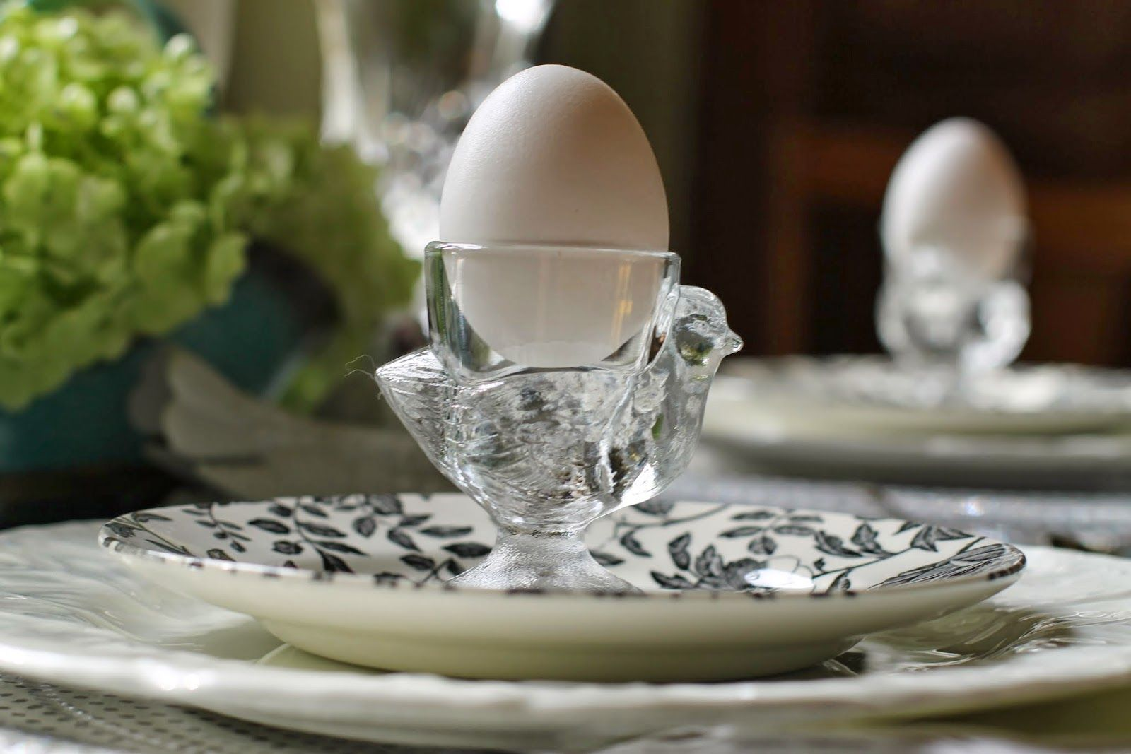 Hidden art of homemaking darling crystal egg cup tablescape