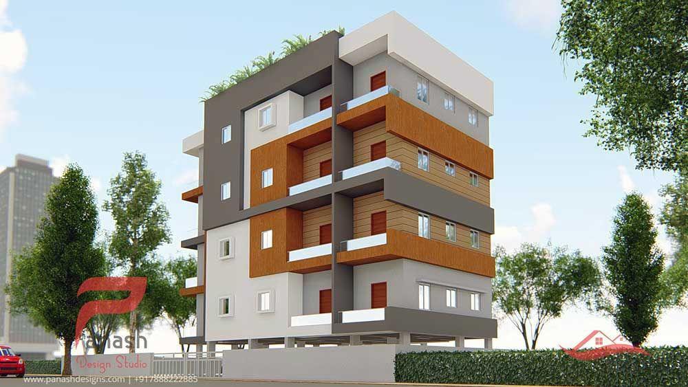 Commercial Elevation Panash Design Studio Commercial
