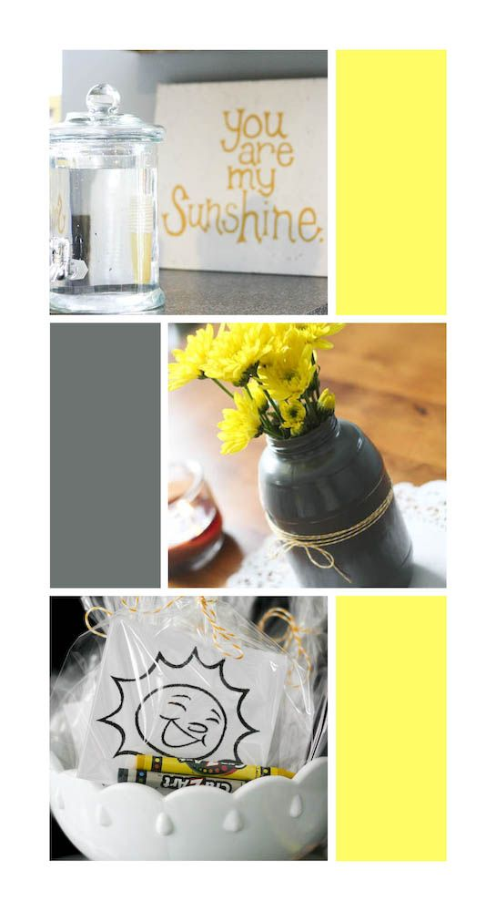 Yellow Birthday Decoration Ideas