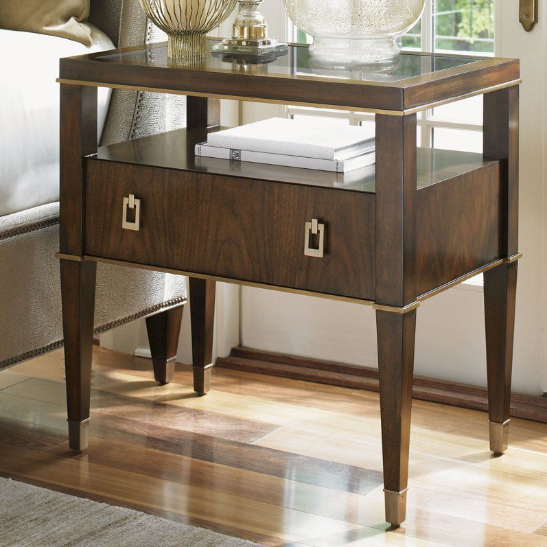 Tower Place 1 Drawer Nightstand Lexington home