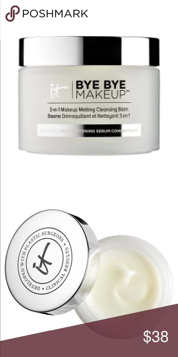 Bye Bye MakeUp 3 in 1 NWT Cleansing balm, The balm, Makeup