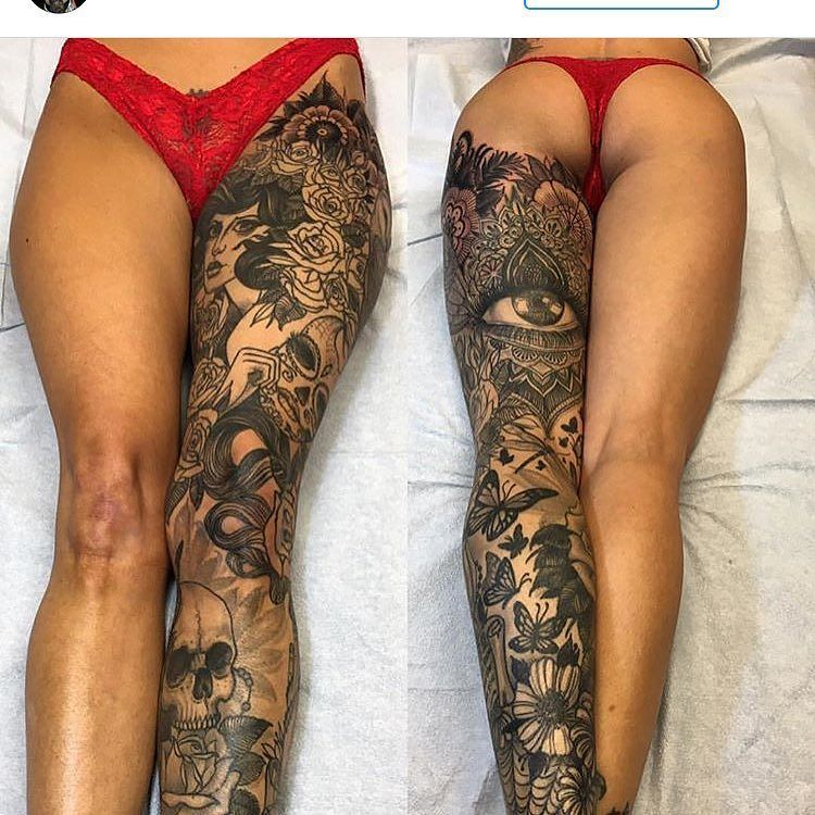 Tag A Friend That Would Like This Leg Sleeve By Sinandskin T