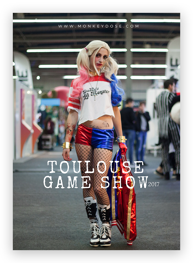 Reportage photo au Toulouse Game Show © Nadia Wicker
