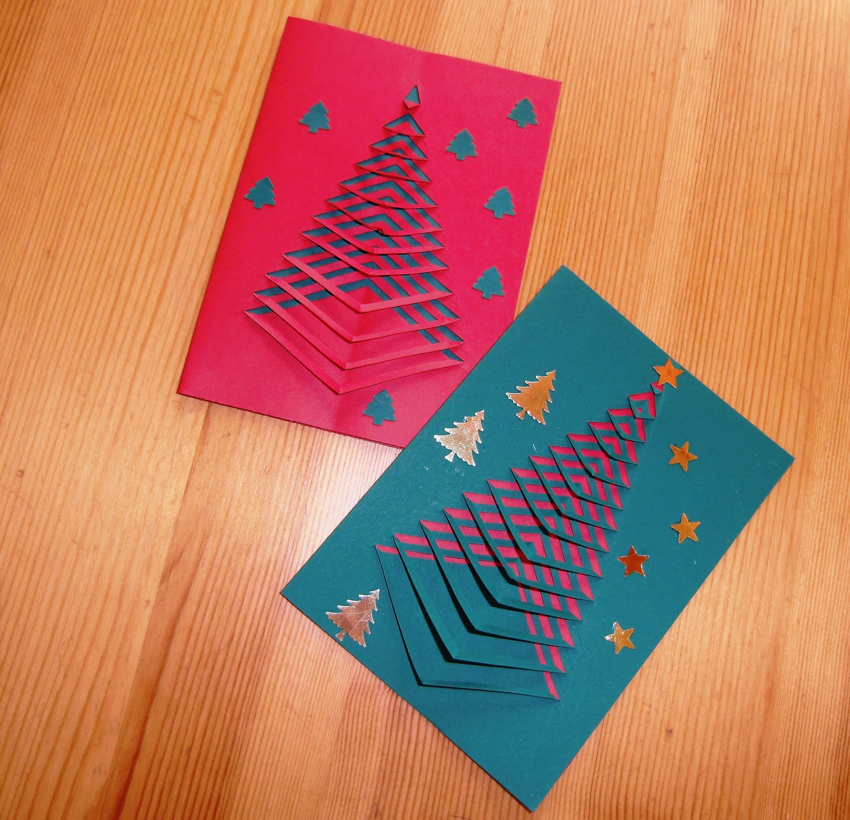 Bildergebnis Für Weihnachtskarten Selber Machen. Über Google Auf  Infocash.club Gefunden